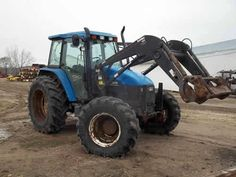 New Holland TS110 tractor salvaged for used parts. This unit is available at All States Ag Parts in Ft. Atkinson, IA. Call 877-530-3010 parts. Unit ID#: EQ-24077. The photo depicts the equipment in the condition it arrived at our salvage yard. Parts shown may or may not still be available. http://www.TractorPartsASAP.com