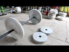 Homemade Gym Equipment, Diy Gym Equipment, No Equipment Workout, Fitness Equipment, Home Made Gym, Diy Home Gym, Gym Shed, Building A Home Gym, Home Gym Garage