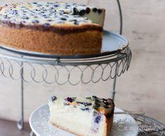 Kuchen de ricota y arándanos