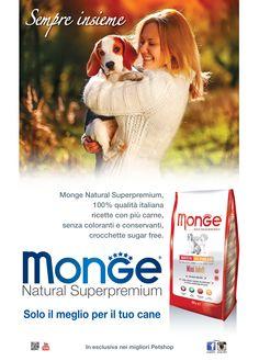 Monge Natural Superpremium Dog - Sempre insieme