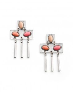 The Cleopatra Reborn Earrings by Jewelmint.com $29.99 -- Love that color palette!