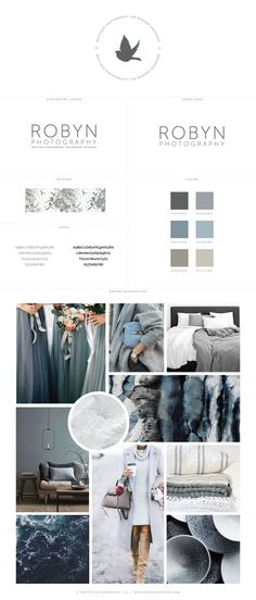 Robyn Photography Logo Identity and Brand Inspiration