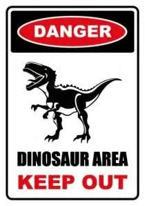 Image result for dinosaur crossing sign free printable