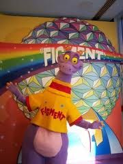 Figment. Journey into Imagination with Figment. the Imagination! pavilion, Epcot.