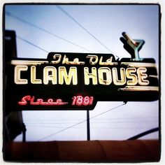 The Old Clam House...
