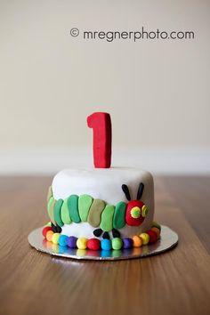 Very hungry caterpillar cake! LOVE this!!