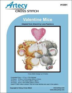 Valentine Mice pattern