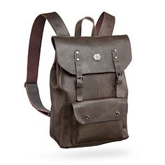 You need a good bag to carry your particular stuff around. Check out this Adventurer's Leather Backpack of Holding. It has a nice form factor that reminds us very much of a Handy Haversack.