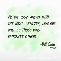 The next century is now—are you one of the leaders? http://blog.amisanyal.com