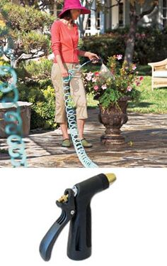 Amy green thumb on pinterest 69 pins for Garden hose solutions