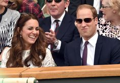 Kate Middleton and Prince William at Wimbledon, July 2nd 2014.