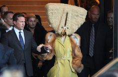 Credit: Action Press/Rex Lady Gaga leaves the Ritz Carlton hotel in Berlin, where she is promoting her new album 'Artpop'