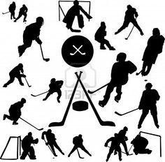 hockey clip art for Sam