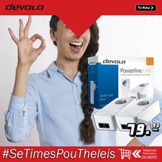 Τέλειες συνδέσεις. Το #devolo #dLAN® 550+ είναι εδώ. Ο νέος σχεδιασμός φιλοξενεί τη νέα καινοτόμο τεχνολογία #Powerline που προσφέρει ένα ακόμη απλούστερο οικιακό δίκτυο υπολογιστών και πολυμέσων.  ΑΠΟΚΤΗΣΤΕ ΤΟ ΕΥΚΟΛΑ : http://koukouzelis.com.gr/aksesouar-laptop-pc/9492-devolo-dlan-550-duo-09303.html