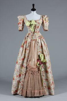 Rare Ernest Raudnist gown 1893 Archive List | Kerry Taylor Auctions