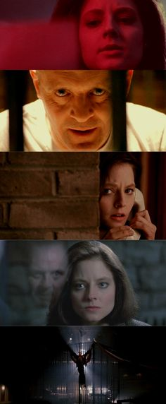 The Silence of the Lambs / Coloring (1991), d. Jonathan Demme, d.p. Tak Fujimoto