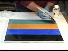 MSA Varnish - Brush Application to a Smooth Acrylic Surface