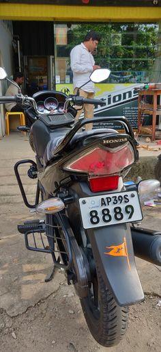Bike number plates