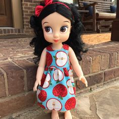 A personal favorite from my Etsy shop https://www.etsy.com/listing/239468927/disney-animator-doll-apple-dress-for