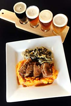 Black Star Co-op is located at 7020 Easy Wind Drive Austin, Texas and features homemade brews and gourmet pub food. Irish Bar, Home Brewing Equipment, Pub Food, Pub Bar, Brew Pub, Mashed Sweet Potatoes, Beer Brewing, Best Beer, Pork Roast