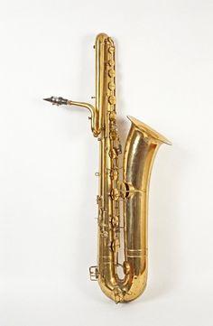 Bass saxophone. 1929 Bass Saxophone, Saxophones, Band Memes, Music Stuff, Musical Instruments, Guitars, Jazz, Porn, Passion
