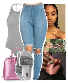 """😏."" by theyknowtyy ❤ liked on Polyvore featuring Topshop and Aspinal of London"