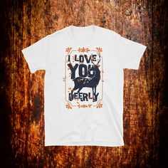 I Love You Deerly Shirt | Deer Shirt | Nature Shirt | Animal Shirt | Love Shirt | Couple Gift by 2Steps2Fashion on Etsy