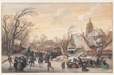 Winter Landscape, Gerrit Battem, c. 1670-1680 John and Marine van Vlissingen Art Foundation