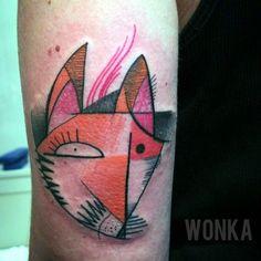 #tattoofriday - Wonka