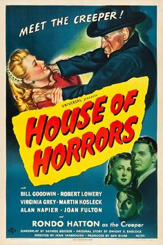 House of Horrors Classic Horror Movie Poster — printed and framed in USA by MUSEUM OUTLETS