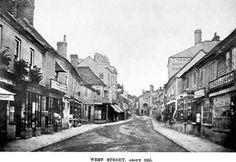 Swan Inn (left) 52, West Street, Horsham