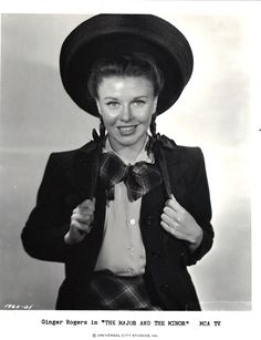 Ginger Rogers The Major and the Minor