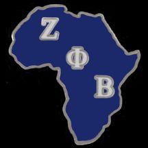 Zeta Phi Beta Africa Lapel Pins