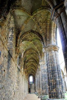 Kirkstall Abbey. Leeds, England.
