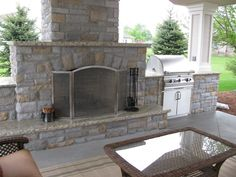 Fireplace Under Deck | Backyard Patios, Kitchens, U0026 Gardens Designed By  Landscape Architects .