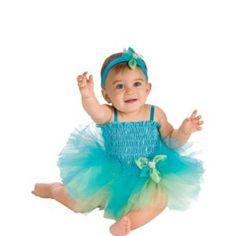 Baby Blue Ballerina Costume