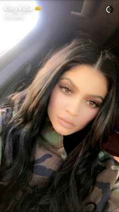 87a1815b375 Kylie Jenner doesn t dream up her sensational makeup ideas in a board room.  Rather the cosmetics guru comes up with her plans while in her own private  ...