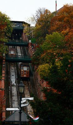 Budapest Castle Hill Funicular | Budapest, Hungary