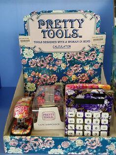 Gendered office supplies (thanks @ Rozyella and @ Batbobbi!)