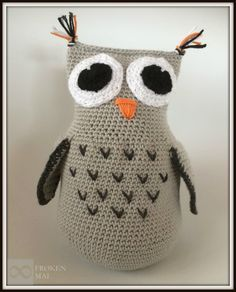 """Annika from Swedes has a pattern on her blog that's just FANTASTIC! The original pattern is on the blog """"Skapa och Inreda"""" right here and there you can also see a lot of images of her owls, and... Read More"""
