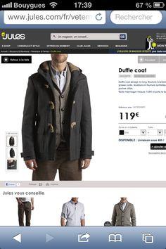 Duffle coat JULES