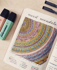Mood Mandala - Stimmungsmandala