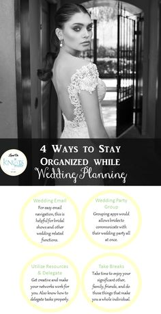 Busy Bride? Here's How to Stay Organized While Planning A Wedding