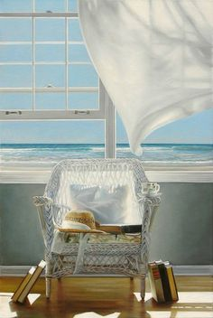 Wish I Were There: Rooms with Ocean Beach Windows by Karen Hollingsworth