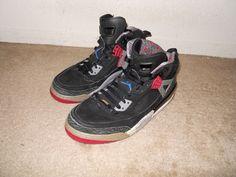 Nike Air Jordan Brooklyn Spizike 2009 Black Red Shoes Sz 10 315371-062 #Nike #BasketballShoes