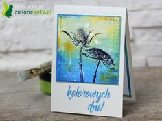 Art Journay stamps card meadow