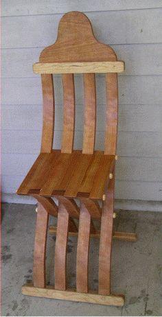 Nice folding chair.