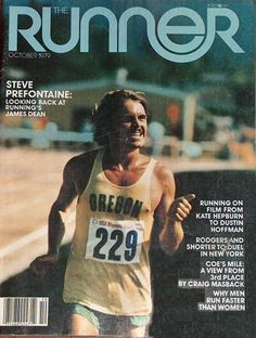 Pre The Runner October Cover photo is of Steve Prefontaine 229 taking a Victory Lap after winning the first heat of the event of the 1972 Olympic time trials Eugene OR, July 1972 Running Race, Running Tips, Steve Prefontaine Quotes, 1972 Olympics, Nike Ad, The Sporting Life, Great Run, Born To Run, Runners High