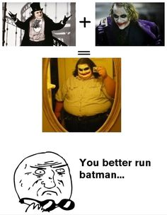 It's simple, we eat the Batman  - funny pictures #funnypictures
