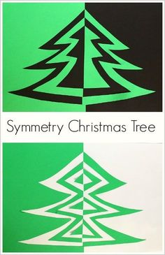 Christmas Tree Art Project for Kids Symmetry Christmas Tree Art Project for Kids: Fun way to combine art and math! ~ Symmetry Christmas Tree Art Project for Kids: Fun way to combine art and math! Christmas Art Projects, Christmas Tree Art, Christmas Arts And Crafts, Winter Art Projects, Projects For Kids, Christmas Maths, Christmas Art For Kids, Christmas Lights, Math Art